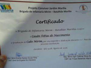Murilo Roriz participou da formatura da Brigada de Infantaria Mirim (2)