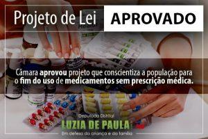 Luzia de Paula - Conscientização do uso de medicamentos