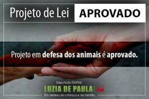 Luzia de Paula - Defesa dos animais